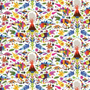 Dinosaur Otomi Multicolor MINI