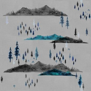 Pacific Northwest Wilderness, Mountains and