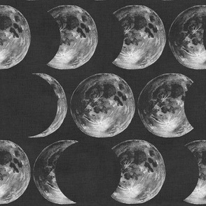 Moon Eclipse (Charcoal)