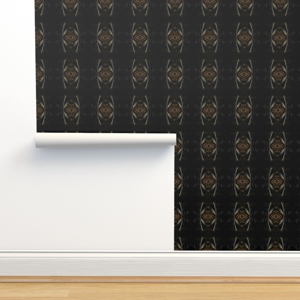Isobar Durable Wallpaper featuring Flicker - black by positive_space_unlimited