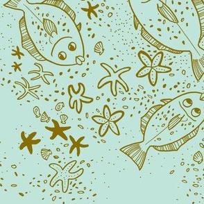 Halibut SeaStar Mint