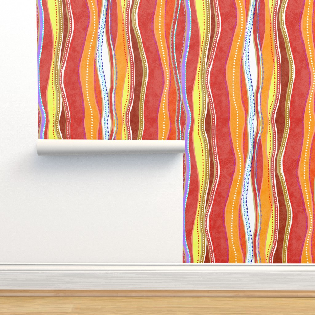 Isobar Durable Wallpaper featuring Castaways Sunset 200 by kadyson
