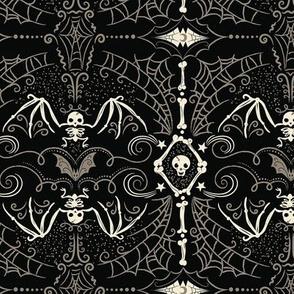 Spooky Bat Skeleton