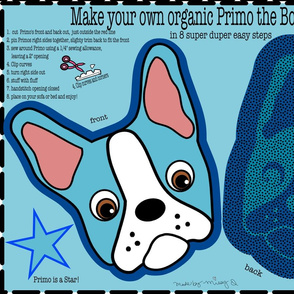 Primo the Boston Terrier Pillow