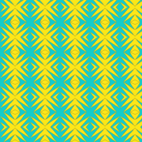 Ziwa Ziwa 12f in Turquoise & Yellow