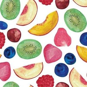 Summer Fruit Salad {White}