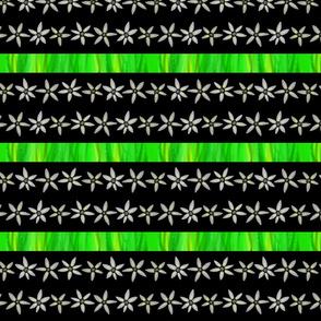 Grass and flowers - Herbe & fleurs (noir black)