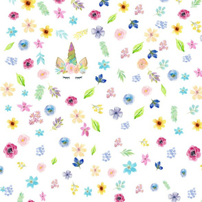 floral unicorn for baby items