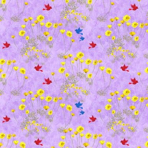 Lilac & Flowers - Matching