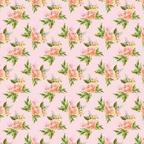 "1.5"" Ellie Florals - Pink"