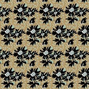 kahki floral-ed