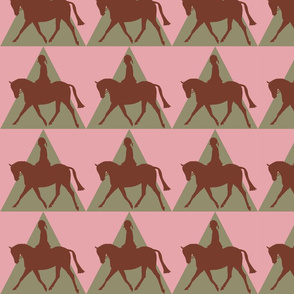 Show Pony - Green Pink Brown