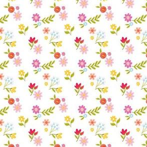 Baby Florals Pink