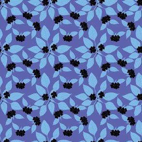 Black Petals in violet