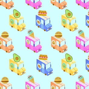 3D Hello BB Food Trucks!