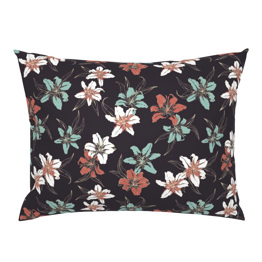 Campine Pillow Sham featuring Summerflowers6 by susanna_nousiainen