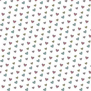 daydreamer tiny rainbow hearts