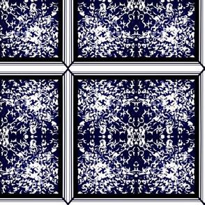 Midnight Snow Fairy Frost Window Pane