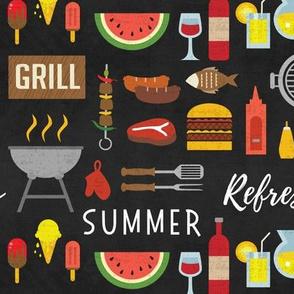 Summer Cookout-Black