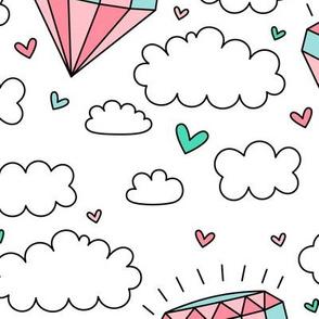 daydreamer diamond clouds LG