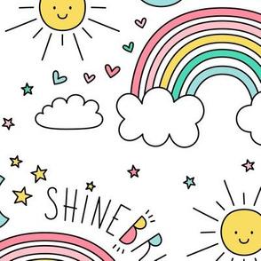 daydreamer shine bright rainbows LG