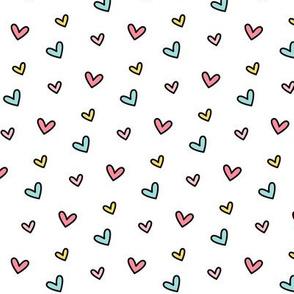 daydreamer tiny rainbow hearts LG
