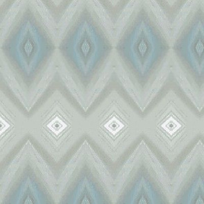 Diamond stripe - blue