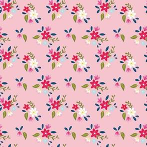 Pink Petite Floral