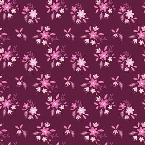 Purple Petite Floral