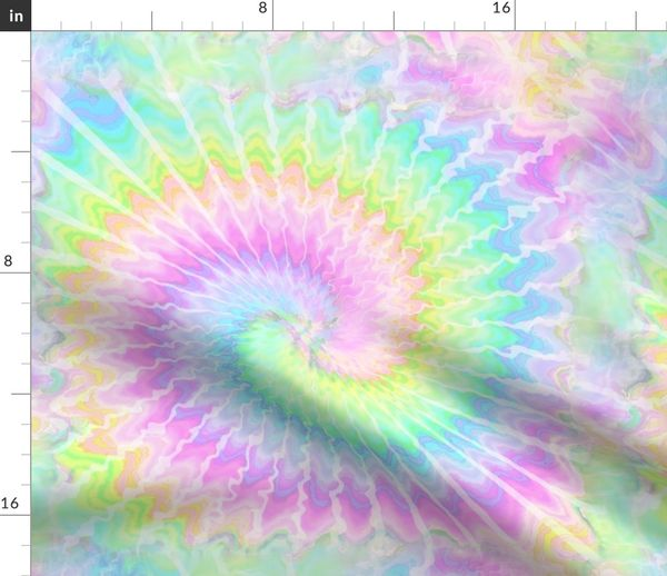9c38d165 2 tie dye pastel rainbow colourful psychedelic rave music festivals neon  pink blue green spirals watercolor