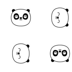 panda dreams panda faces