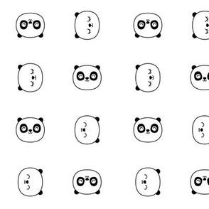 panda dreams panda faces small