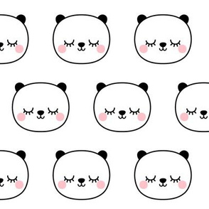 panda dreams cheeky panda sleepy faces