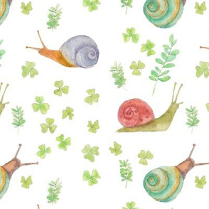 snails white / kids baby clothes