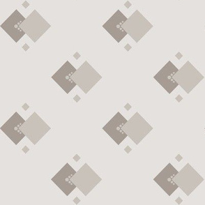 Dust In The Wind: Warm Gray Geometric