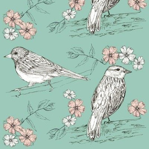 Botanical Birds