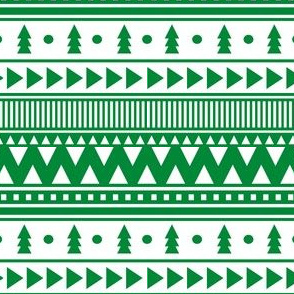 scandinavian christmas green