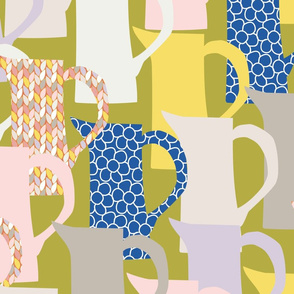 milk jugswith patterns-green bg-01-01