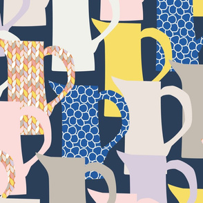milk jugswith patterns-navy-01