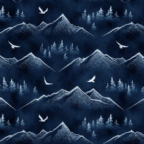 Eagles' Eye View // Winter's Night // Small