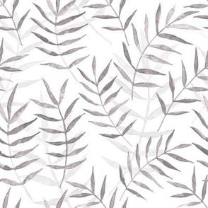watercolor grey tropical pattern