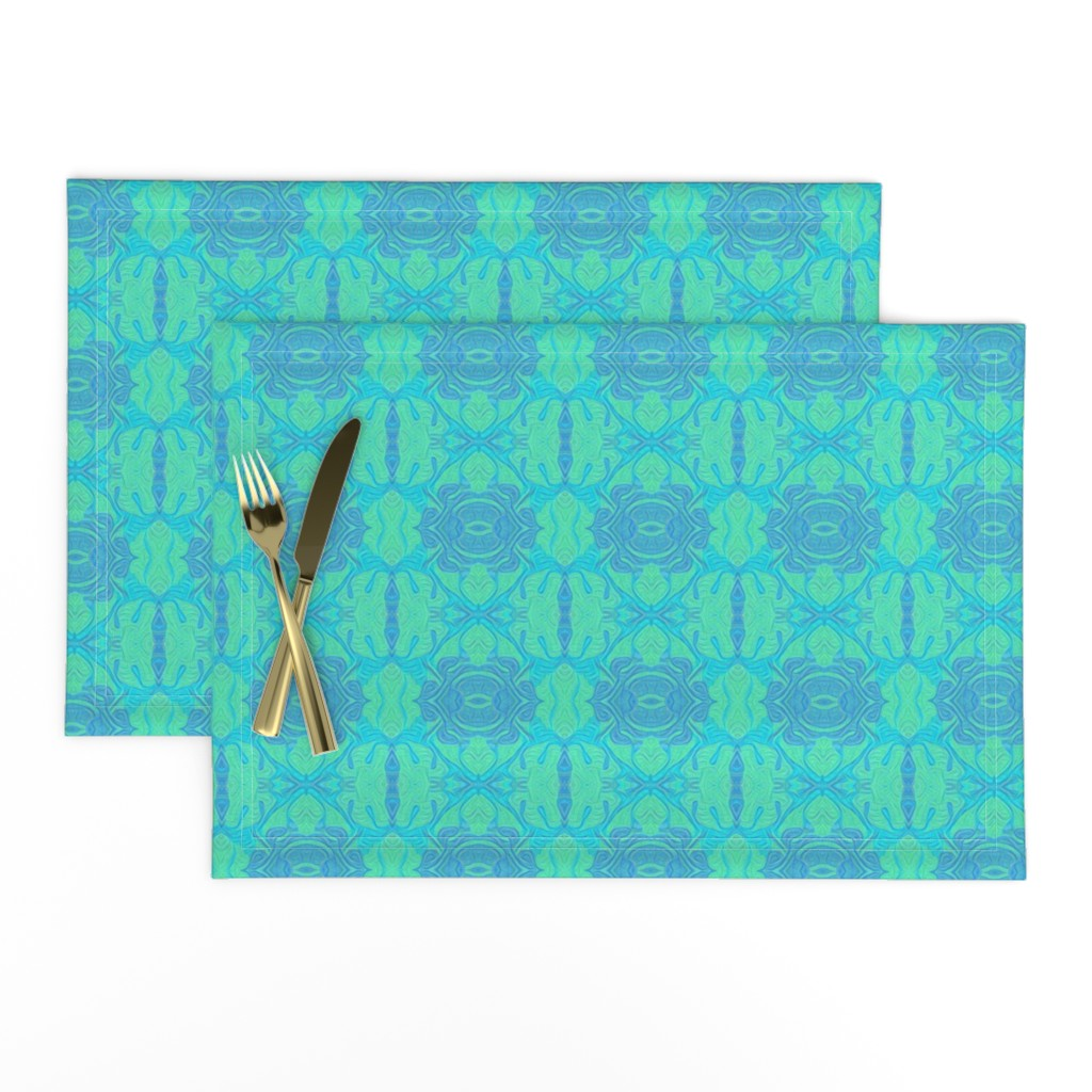 Lamona Cloth Placemats featuring You Really Got Me by gargoylesentry