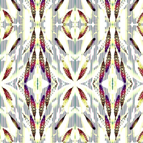 Falling Feathers Stripe