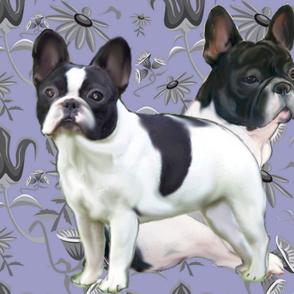 French Bulldog Fat Quarter Fabric