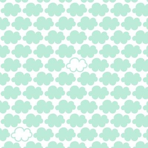clouds mint || sugared spring