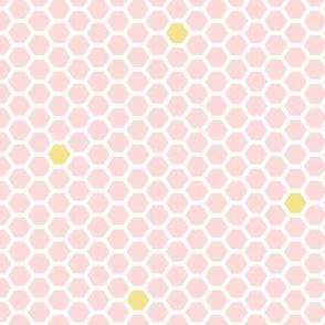 honeycomb blush pink || sugared spring