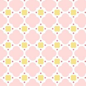 quatrefoil dot || sugared spring