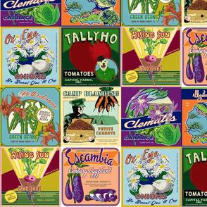 Grown in Florida Vegetable Labels