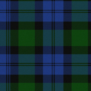 Blackwatch Tartan ~ Jardin and Willow Ware  ~ Textured