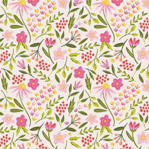 Springtime Floral Pink